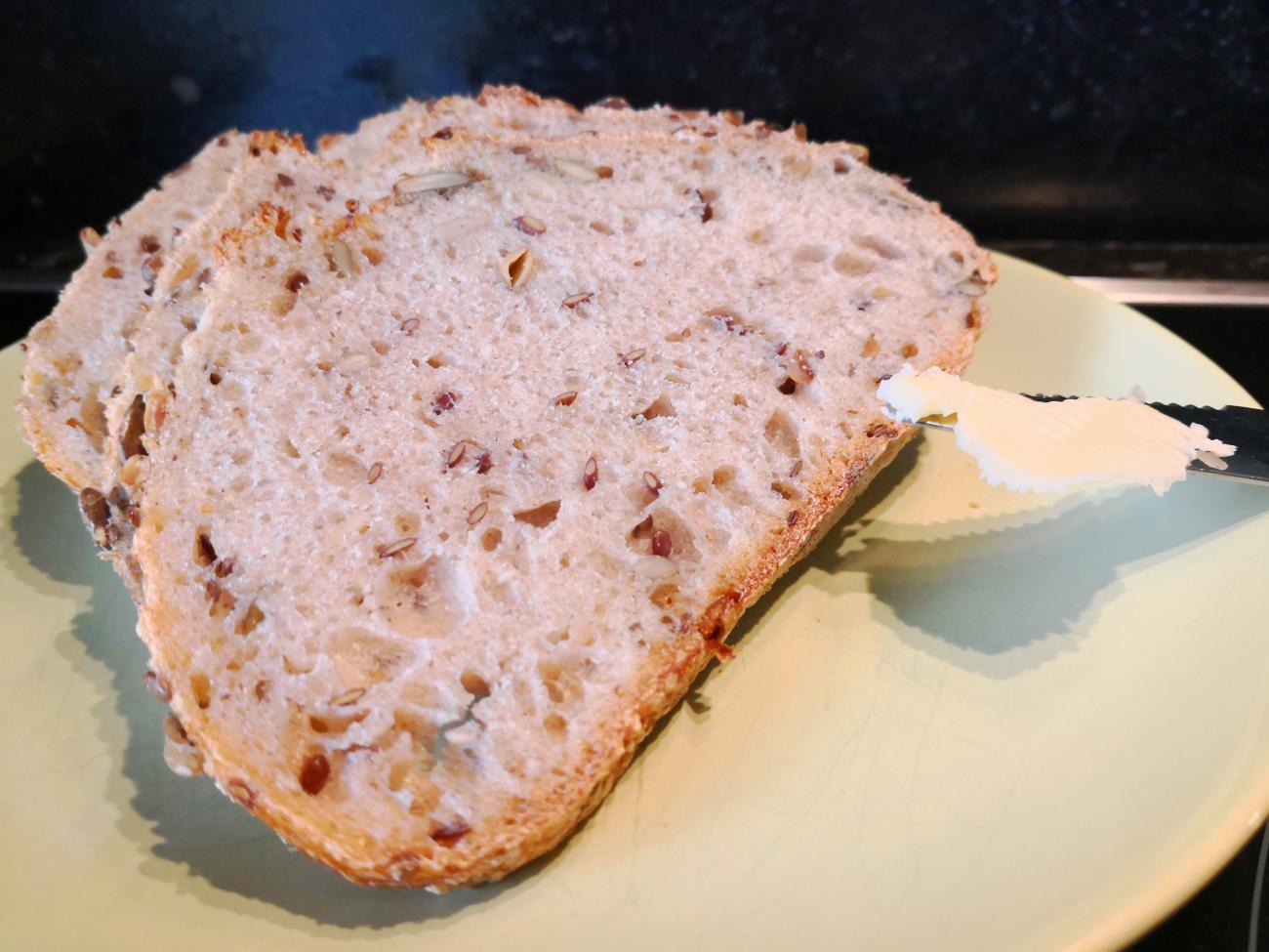 Du pain au levain BIO