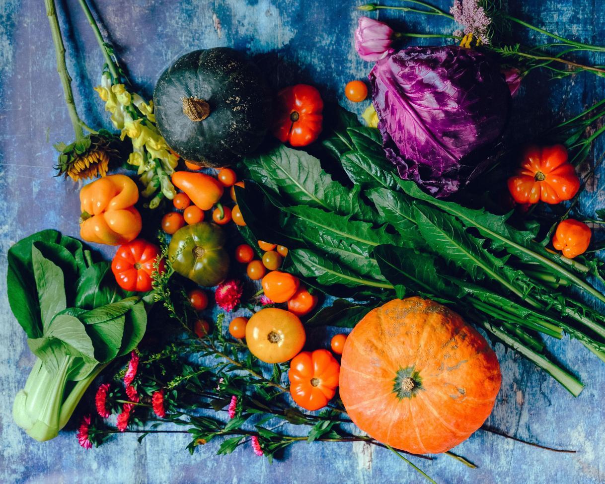 Légumes divers d'hiver